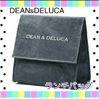 ディーンアンドデルーカ(DEAN & DELUCA)のディーンアンドデルーカ ランチバッグ チャコールグレー(弁当用品)