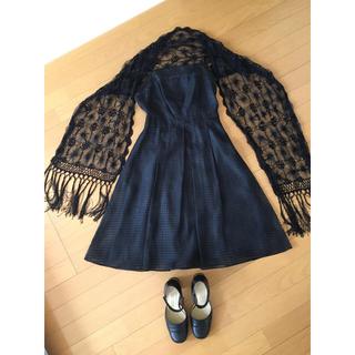 コムサイズム(COMME CA ISM)のドレス・ワンピース/ボレロセット(ひざ丈ワンピース)