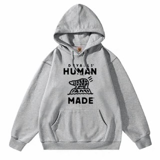 A BATHING APE - HUMAN MADE 20AW グレー パーカー XL