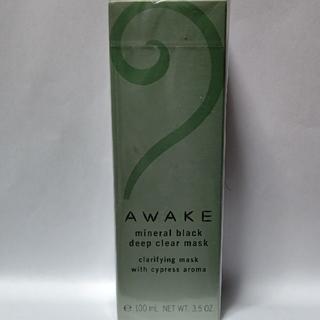 コーセー(KOSE)のAWAKE アウェイク ミネラルブラックディープクリアマスク(パック/フェイスマスク)