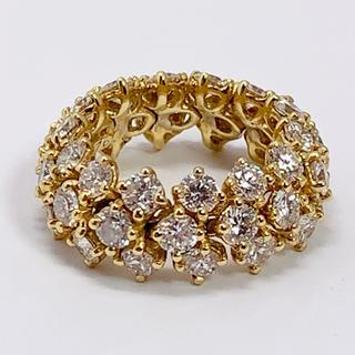 ハリーウィンストン(HARRY WINSTON)のハリーウィンストン リング フレキシブルリング 指輪 ダイヤモンド K18(リング(指輪))