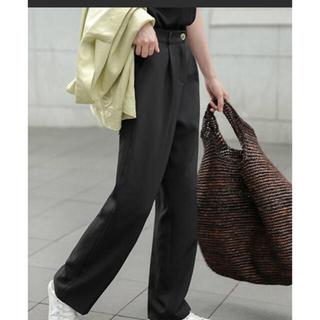トゥデイフル(TODAYFUL)のchuclla  Semi wide color slacks(カジュアルパンツ)