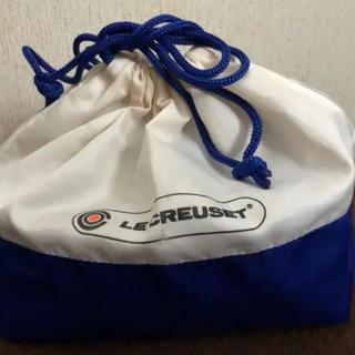 ルクルーゼ(LE CREUSET)のyoume様専用です。ル・クルーゼ 巾着袋 新品 ☆2枚セット☆ミッフィーポーチ(ランチボックス巾着)