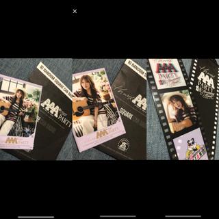 トリプルエー(AAA)のAAA 15th カフェ 入場特典#宇野実彩子(アイドルグッズ)