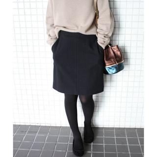 イエナスローブ(IENA SLOBE)のSLOBE IENA/カルゼ台形スカート(ミニスカート)