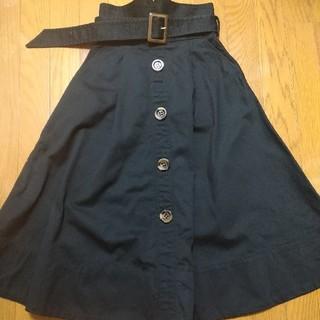 リリーブラウン(Lily Brown)のLily Brown トレンチスカート(ひざ丈スカート)