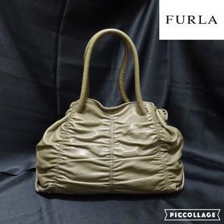 フルラ(Furla)のFURLA:フルラ ギャザー オールレザー・ショルダー/ハンドバッグ(ショルダーバッグ)