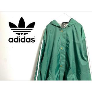 adidas - [古着] adidas originals フーディーナイロンジャケット