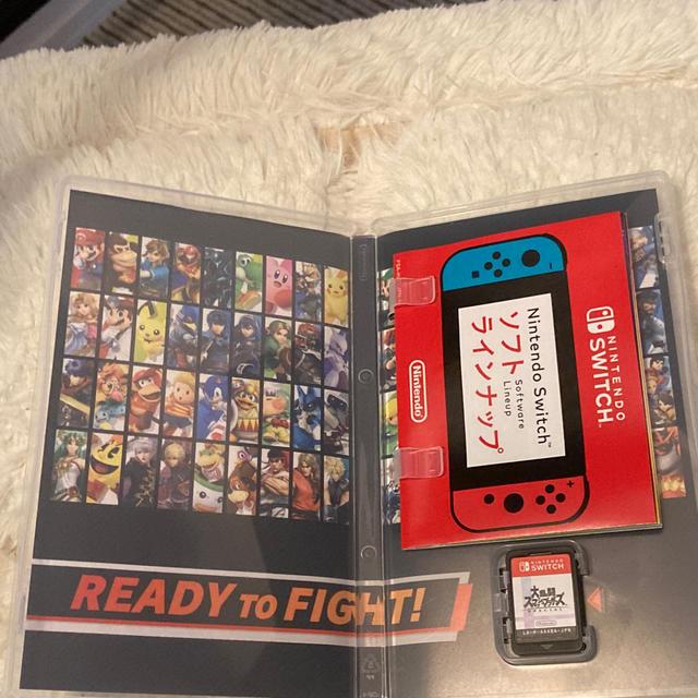 Nintendo Switch(ニンテンドースイッチ)の大乱闘スマッシュブラザーズ Switch ソフト スマブラ エンタメ/ホビーのゲームソフト/ゲーム機本体(携帯用ゲームソフト)の商品写真