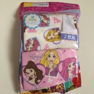 Disney - ディズニー プリンセス 100cm 2枚組 ショーツ 女の子 キッズ