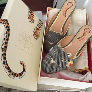 Charlotte Olympia - Charlotte Olympia cat shoes.