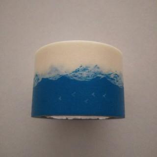 ミナペルホネン(mina perhonen)のmt×ミナペルホネン 幅広マスキングテープ  trip・blue(テープ/マスキングテープ)