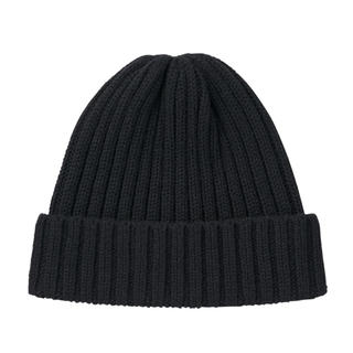 ムジルシリョウヒン(MUJI (無印良品))の無印良品 おでこのチクチクを抑えたリブ編み洗えるワッチ 55~59cm・ニット帽(ニット帽/ビーニー)