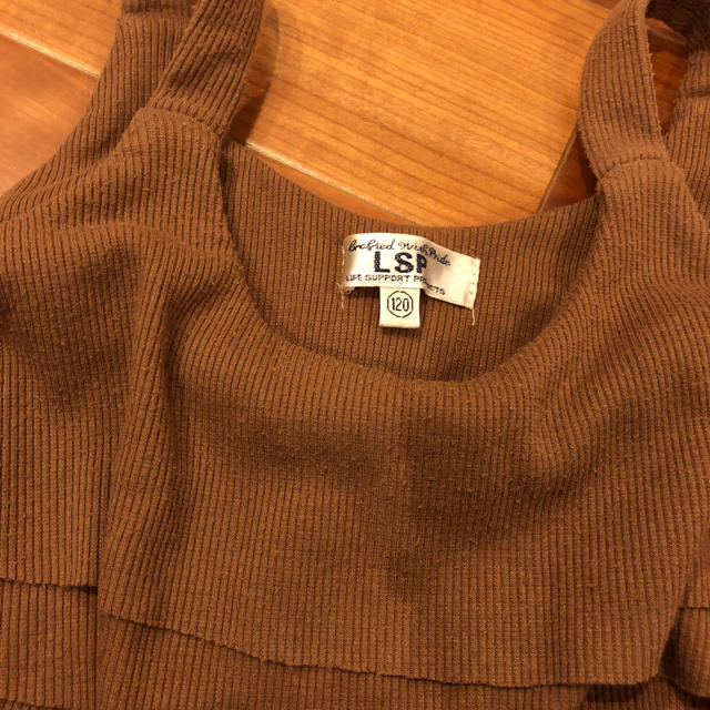 MARKEY'S(マーキーズ)のサロペット 120 キッズ/ベビー/マタニティのキッズ服女の子用(90cm~)(パンツ/スパッツ)の商品写真