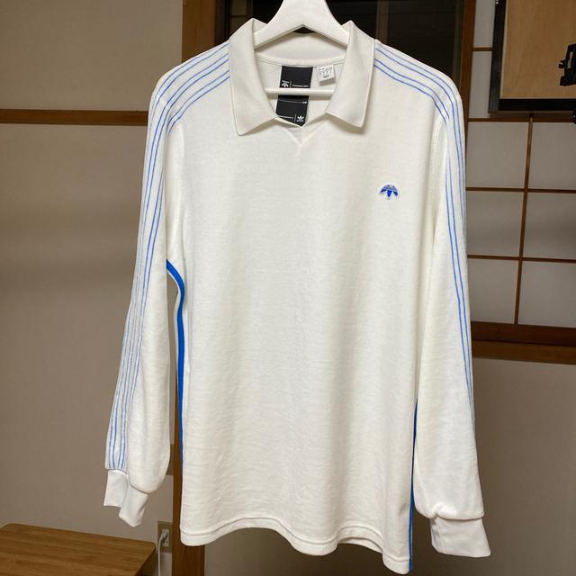 Alexander Wang(アレキサンダーワン)の(最終値下げ) Alexander Wang x Adidas スキッパーシャツ メンズのトップス(ポロシャツ)の商品写真
