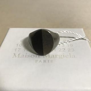 Maison Martin Margiela - メゾンマルジェラ ツートーンシグネットリング XS