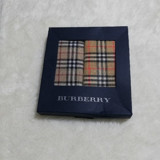 BURBERRY - BURBERRY ハンカチ 2枚セット