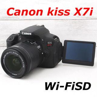 Canon - ❤️カメラバッグ付き❤️スマホ転送❤️Canon kiss X7i