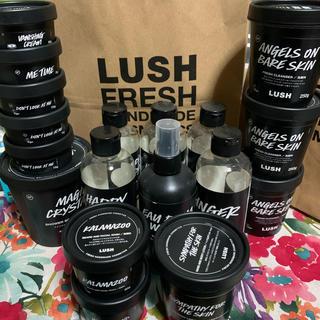 ラッシュ(LUSH)のLUSH 空容器 18個セット(パック/フェイスマスク)