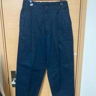 コモリ(COMOLI)のVOAAOV cotton chino tuck pants(チノパン)