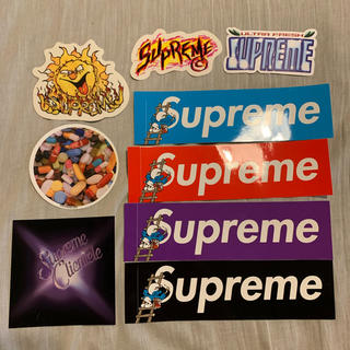 Supreme - Supreme ステッカー 9枚 Smurf box logo シュプリーム