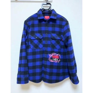 Supreme - Supreme 1-800 Buffalo Plaid Shirt Mサイズ