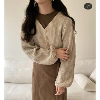 TODAYFUL - (lawgy)cotton short cardigan