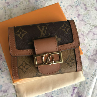 LOUIS VUITTON - ルイヴィトン M68725 ポルトフォイユ ドーフィーヌ コンパクト財布