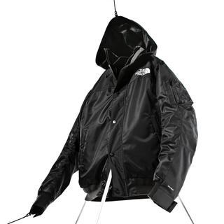 サカイ(sacai)の募集 sacai north face bomber jacket 黒s-m(ダウンジャケット)