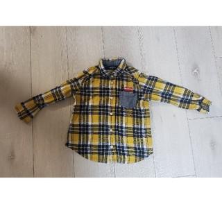 kladskap - クレードスコープ 100cm チェックシャツ