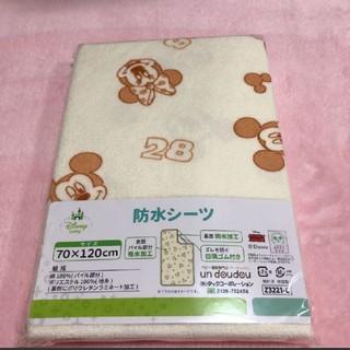 Disney - おねしょシーツ 【防水タイプ】ミッキー&ミニー 男女兼用