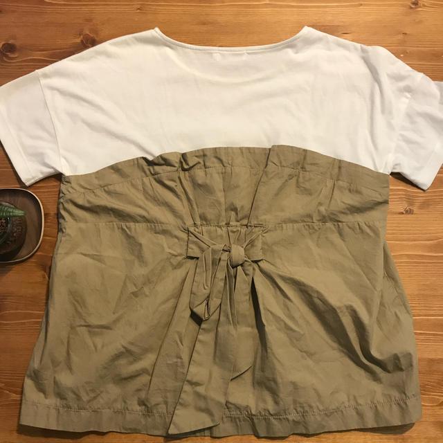 LEPSIM(レプシィム)のフリルTシャツ レディースのトップス(Tシャツ(半袖/袖なし))の商品写真