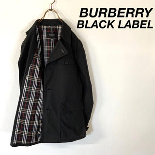 バーバリーブラックレーベル(BURBERRY BLACK LABEL)のBURBERRY BLACK LABEL ノバチェック デザインジャケット(ブルゾン)