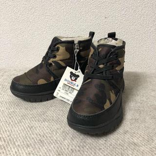 ダブルビー(DOUBLE.B)の【未使用】17cm ダブルB ブーツ ミキハウス mikihouse(ブーツ)