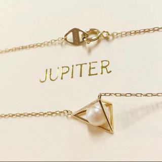 agete - 【JUPITER】tetrahedron pearl ネックレス/パール