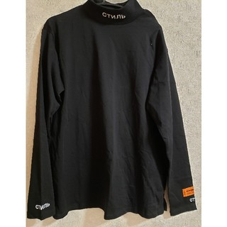 heron preston ヘロンプレストン Tシャツ(Tシャツ/カットソー(七分/長袖))