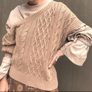 Ameri VINTAGE - LAYERED CABLE KNIT