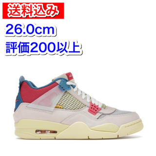 ナイキ(NIKE)のUNION AIR JORDAN 4 GUAVA ICE 26.0cm(スニーカー)