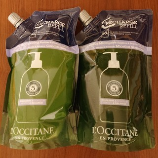 L'OCCITANE - ロクシタンファイブハーブスBシャンプー・コンディショナー(レフィル)セット