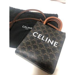 celine - セリーヌ ミニバーティカルカバ/トリオンフキャンバス