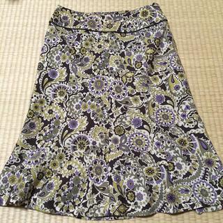 アルファキュービック(ALPHA CUBIC)のスカート ウエスト67 日本製(ひざ丈スカート)