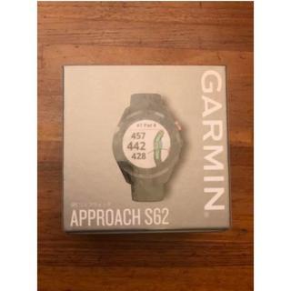 GARMIN - 【新品未開封】GARMIN approach s62 ブラック
