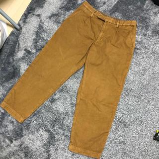 カラー(kolor)のkolor カラー パンツ ブラウン 3 オックスドクロップドパンツ(ワークパンツ/カーゴパンツ)