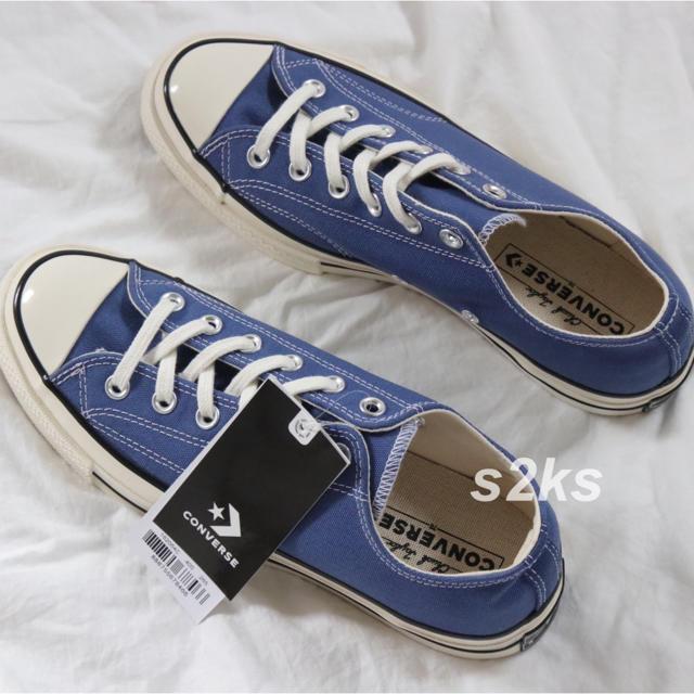 CONVERSE(コンバース)のconverse コンバース チャック テイラー CT70 トゥルー ネイビー メンズの靴/シューズ(スニーカー)の商品写真