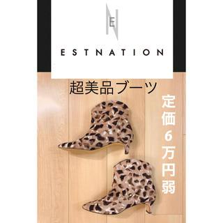 ESTNATION - 定価6万円弱♡エストネーションセレクト、日本ブランドショートブーツ
