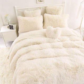 ふわふわ 暖かい 布団カバー シーツ 枕カバー セット