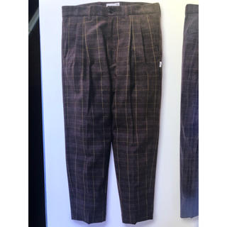 ダブルタップス(W)taps)の20SS wtaps tuck trousers textile パンツ S(スラックス)