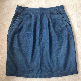 ローリーズファーム(LOWRYS FARM)の ローリーズファーム デニムスカート(ひざ丈スカート)