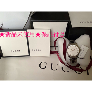 Gucci - 完全★新品未使用❗️★GUCCI時計★保証付き★付属品全完備❗️