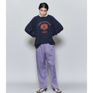 BEAUTY&YOUTH UNITED ARROWS - 6 ROKU NEW SATIN PANTS サテンパンツ